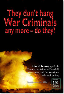 DVD: Hitler, Churchill, and Iraq - war crimes of the modern world (English, 88 mins)