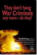 DVD: Hitler, Churchill, and Iraq�- war crimes of the modern world (English, 88 mins)